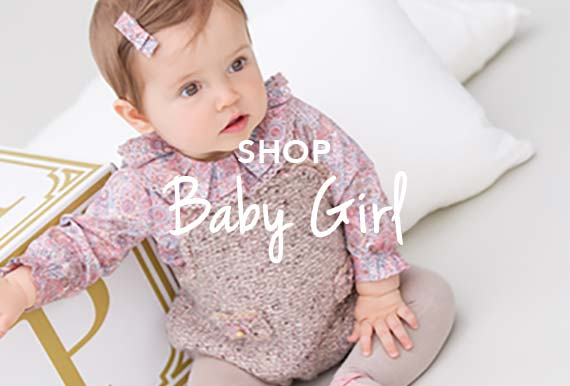 Shop for baby girls designer clothes