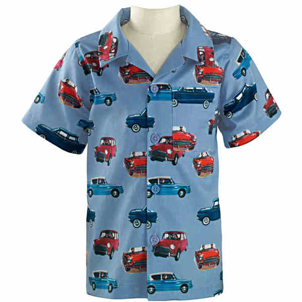 Rachel Riley Boys Vintage Car Shirt