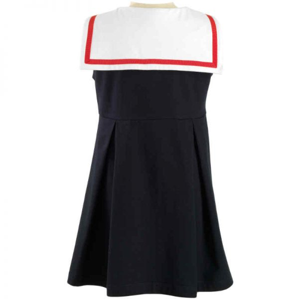 Rachel Riley Girls Navy Sailor Dress
