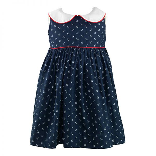 Rachel Riley Baby Girls Anchor Dress