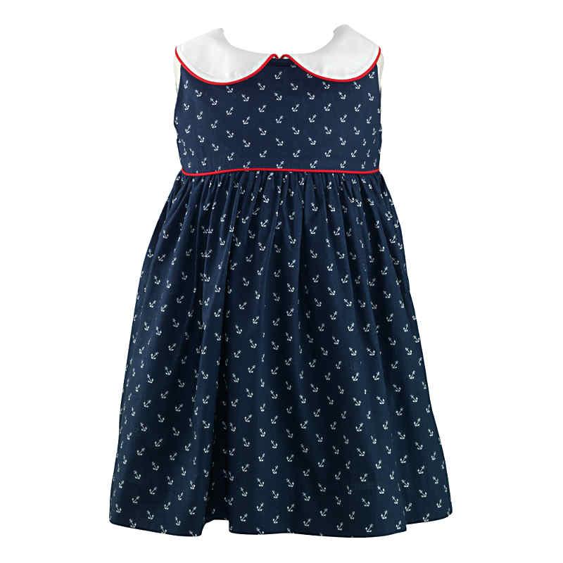 Rachel Riley Baby Girls Anchor Dress