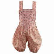 Rachel Riley Baby Girls Pink Floral Dungarees