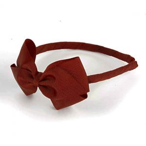 Girls Red Hairband by Verity Jones
