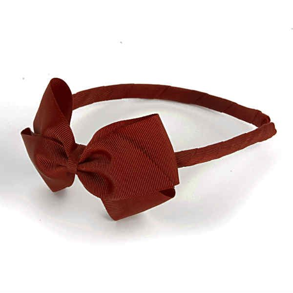 Girls Red Hairband by Verity Jones