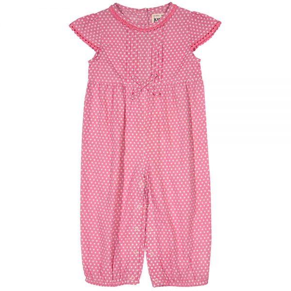 Baby Girls Spotty Jumpsuit