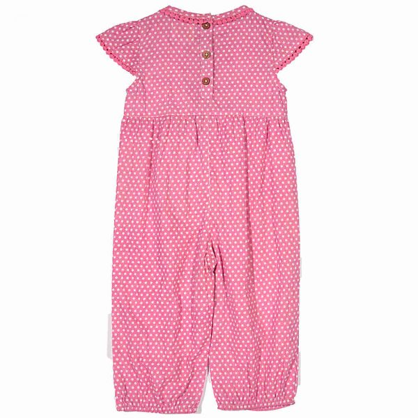 Kite Kids Baby Girls Spotty Jumpsuit