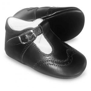 Borboleta Baby Boys Navy Pre Walking Shoes