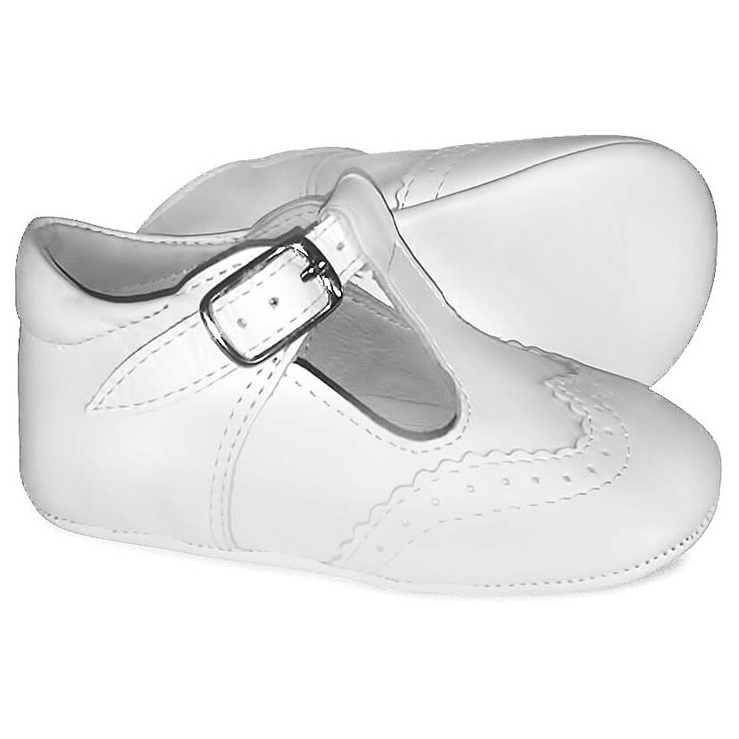 Borboleta Baby Boys White Pre Walking Shoes  9b6516c37