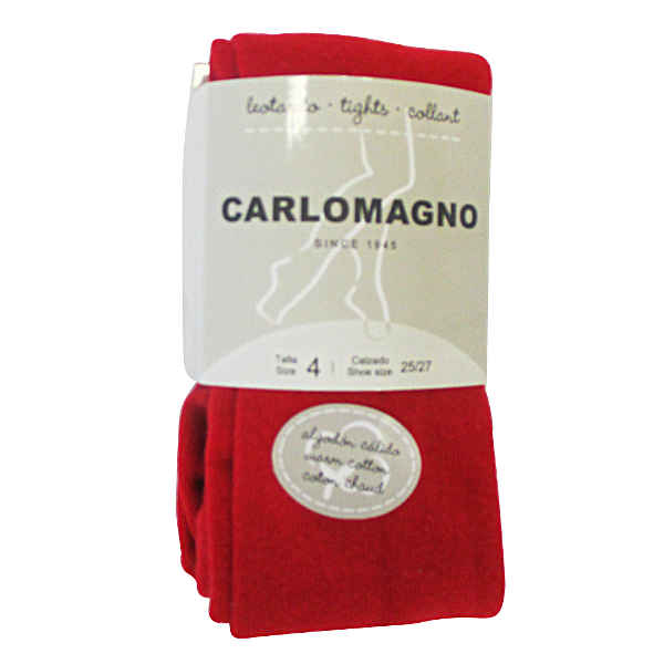 Carlomagno Red Tights