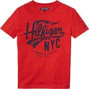Tommy Hilfiger Boys Red T-Shirt