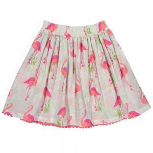 Kite Girls Reversible Flamingo Skirt