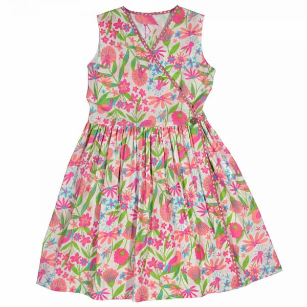 Kite Girls Reversible Flamingo Dress