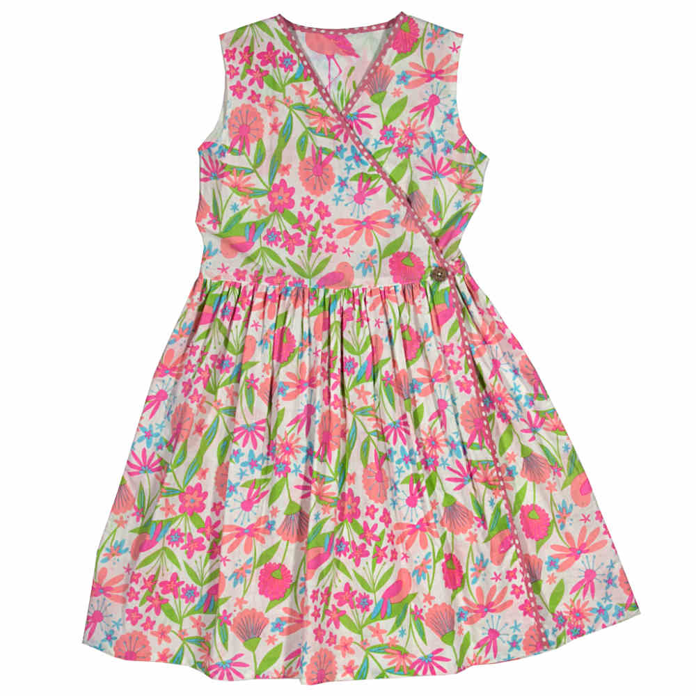 Kite Girls Reversible Flamingo Dress
