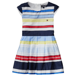 82fa19751ad133 Tommy Hilfiger Girls Stripe Dress | Bumpalumpa.com