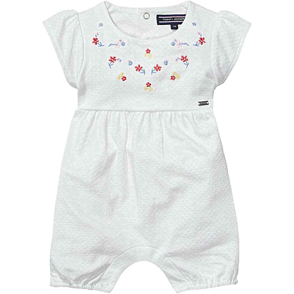 c6aaea22111476 Baby Girls Tommy Hilfiger Romper | Bumpalumpa.com