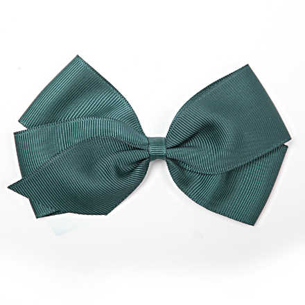 Verity Jones Teal Bow Hair Clip