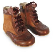 Girls Brown Ankle Boots