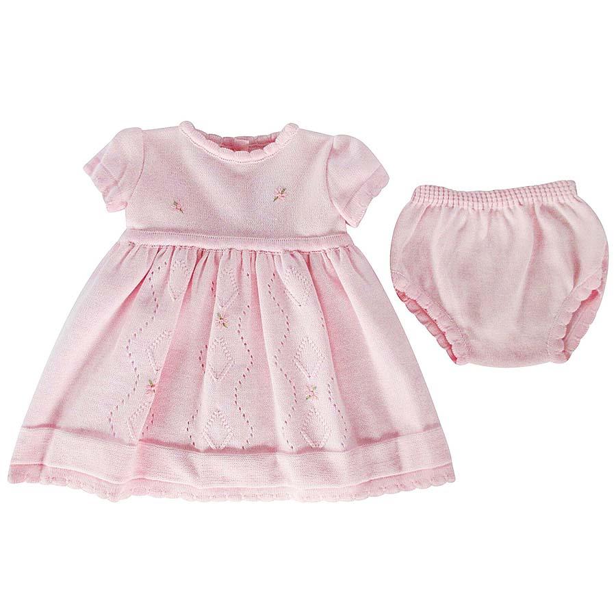 b52dd5c40 Pex Baby Girls Pink Dress | Bumpalumpa.com