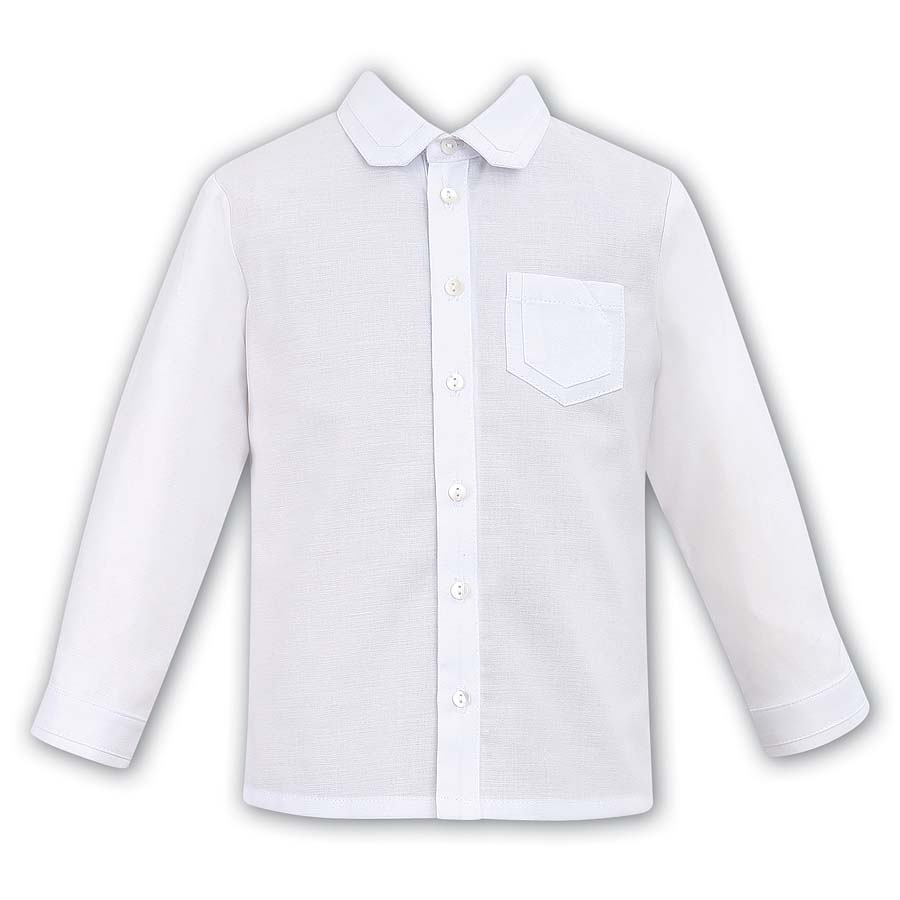 Sarah Louise Boys White Shirt