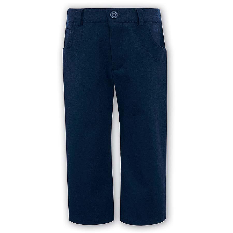 Sarah Louise Boys Navy Trousers