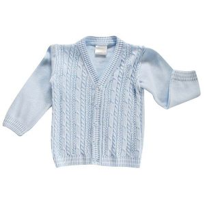 Pex Baby Boys Blue Cardigan
