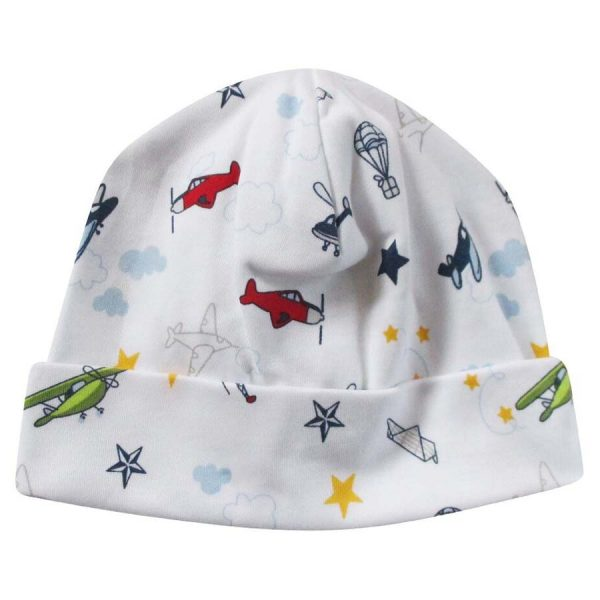 Kissy Kissy Aviator Print Hat