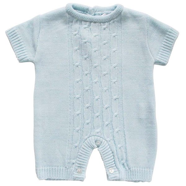 Pex Baby Boys Blue Romper