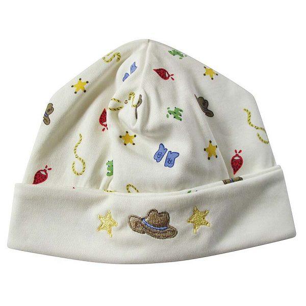 Kissy Kissy Buckaroo Print Hat