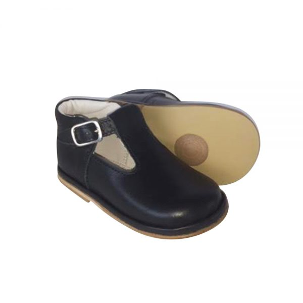 Borboleta Boys Navy Shoes