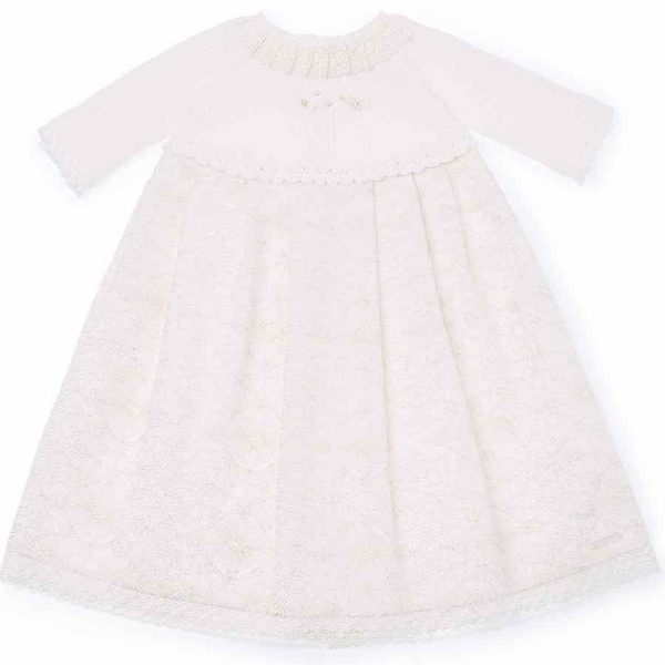 Pili Carrera Christening Gown.