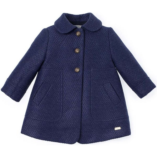Pili Carrera Girls Coat & Bonnet