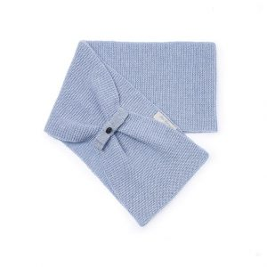 Pili Carrera Girls Light Blue Knitted Scarf