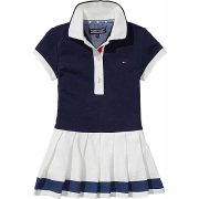 Tommy Hilfiger Girls Navy Polo Dress