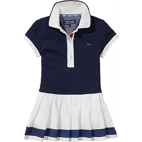 ee9e74daff97ee Tommy Hilfiger Girls Navy Polo Dress | Bumpalumpa.com