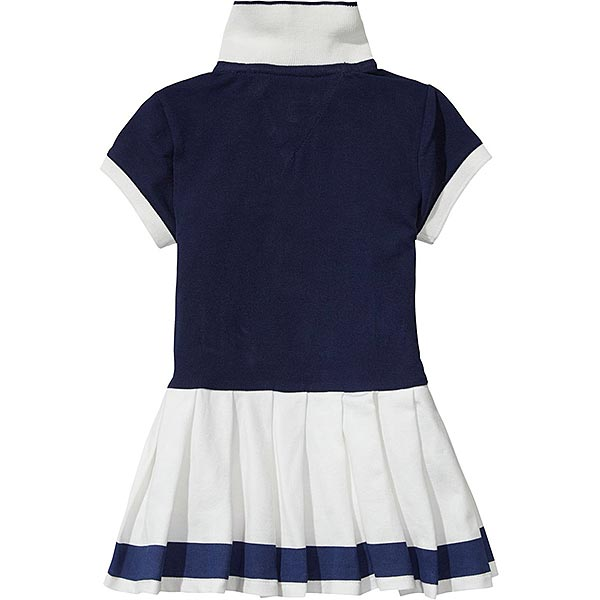Tommy Hilfiger Girls Navy Polo Dress