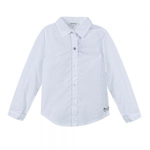 Image of 3 Pommes Girls White Shirt.