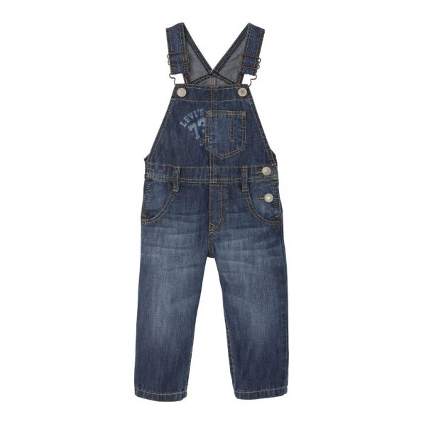Levis Baby Boys Denim Dungarees