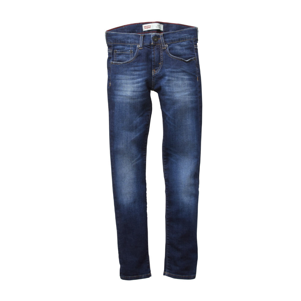 Levis Boys Blue Denim Skinny Jeans