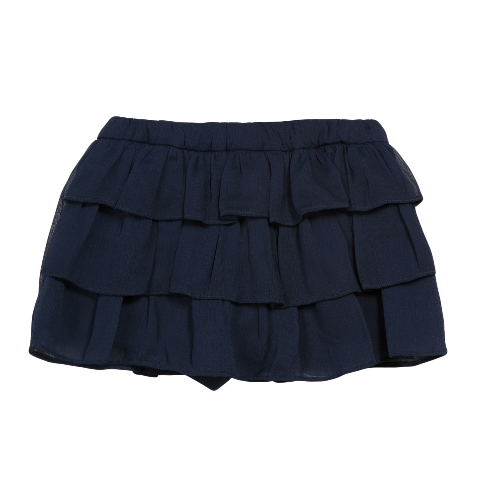 3 Pommes Girls Navy Blue Shorts