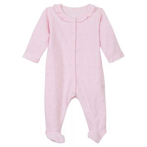 Absorba Baby Girls Pink Babygrow
