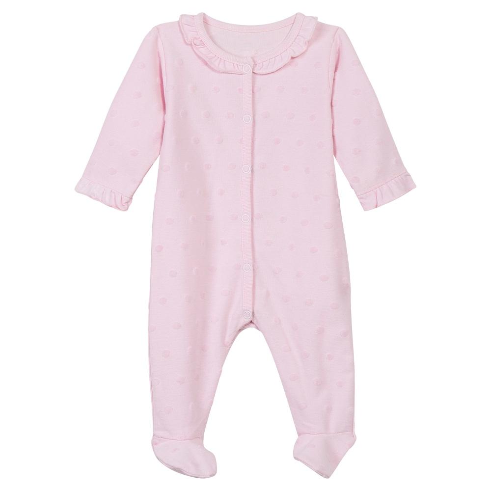 Absorba Baby Girls Pink Babygrow