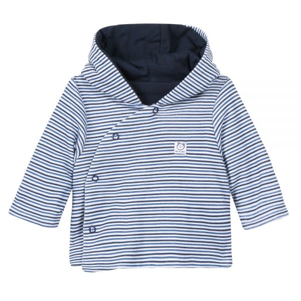 Absorba Baby Boys Blue Stripe Jacket