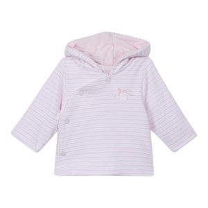 Absorba Baby Girls Pink Reversible Jacket