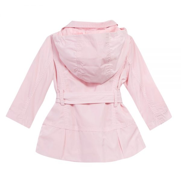 3 Pommes Baby Girls Pale Pink Raincoat