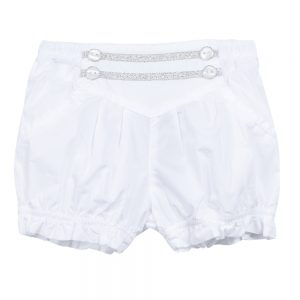 3 Pommes Baby Girls White Shorts