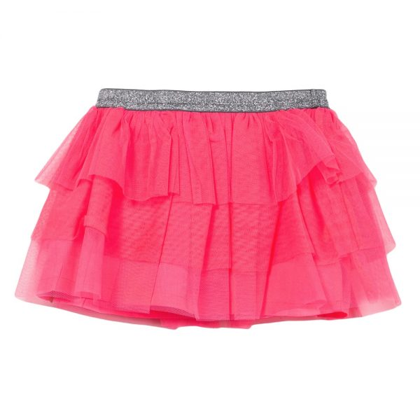 3 Pommes Baby Girls Pink Tulle Skirt
