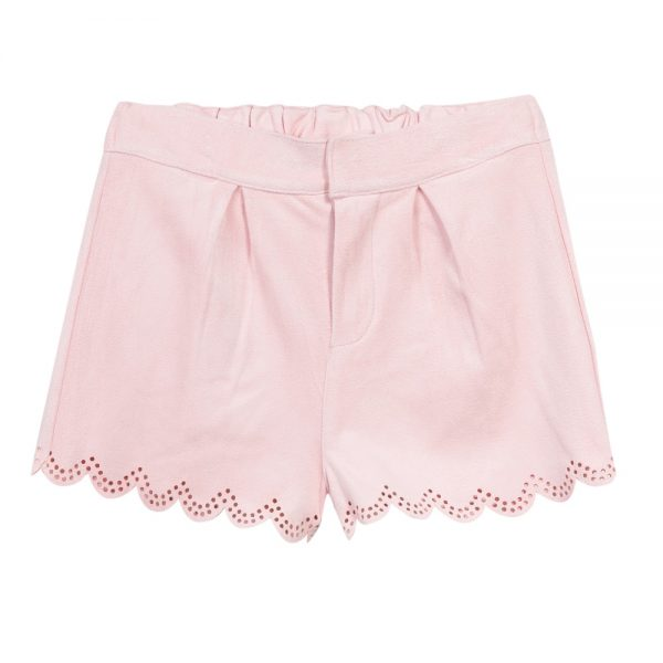 3 Pommes Girls Pink Shorts