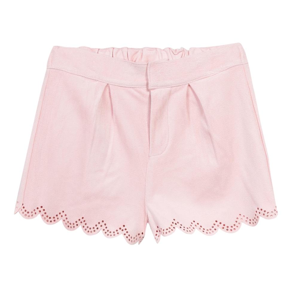 3 Pommes Girls Pink Shorts