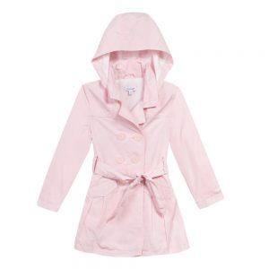 3 pommes girls pink raincoat