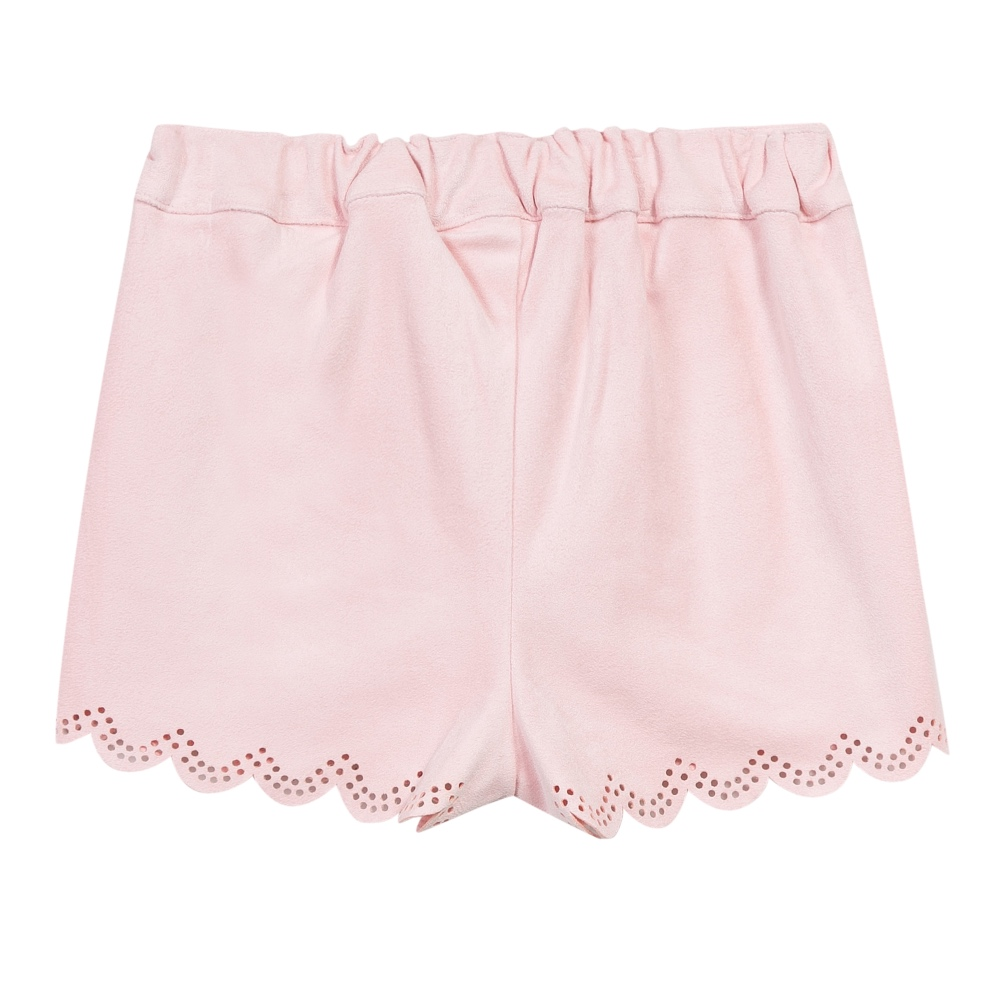 3 Pommes girls pink shorts back image